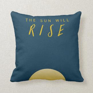 The Sun steigt Kissen