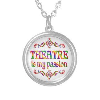Theater-Leidenschaft Versilberte Kette