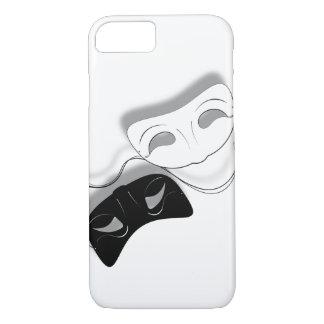 Theater maskiert Telefon-Kasten iPhone 8/7 Hülle