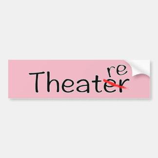 Theater-nicht Theater-Autoaufkleber Autoaufkleber