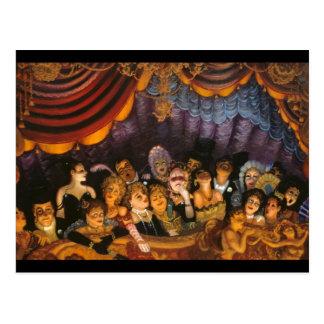 Theater-Spaß Postkarte