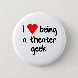 Theatergeek-Liebe Runder Button 5,1 Cm