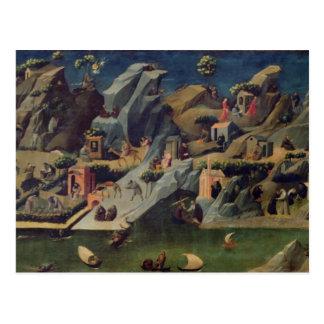 Thebaid, c.1410 (Tempera auf Platte) (sehen Sie Postkarte