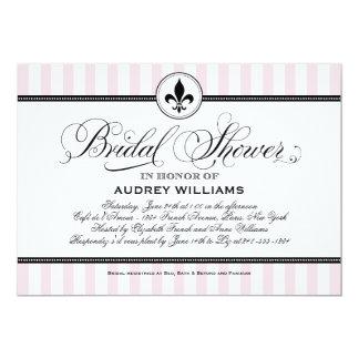 Thema der Brautparty-Einladungs-| Paris Frankreich 12,7 X 17,8 Cm Einladungskarte