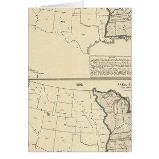 Thematische Vereinigte Staaten Karte