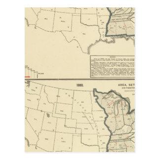 Thematische Vereinigte Staaten Postkarte