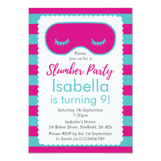 Themed Geburtstags-Party Einladung des