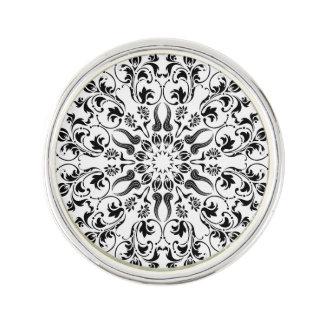 Themenorientierte tragbare Kunst der Mandala Anstecknadel