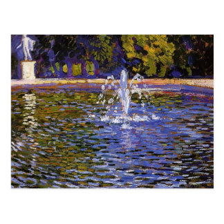 Theo Rysselberghe- Parc ohne Souci in Potsdam Postkarte