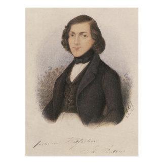 Theodor Fontane, 1843 Postkarte