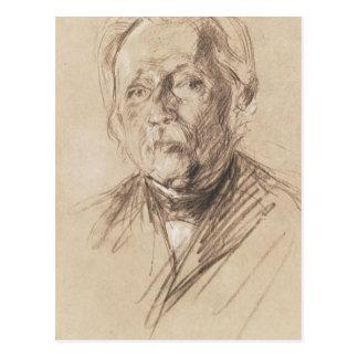 Theodor Fontane, 1896 Postkarte