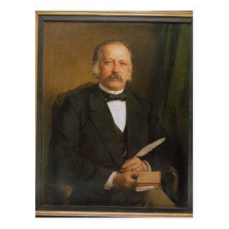 Theodore Fontane, 1883 Postkarte