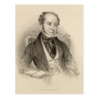 Theodore-Haken, Esq., graviert von G. Murray Postkarte