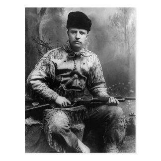 Theodore Roosevelt 1885 Postkarte