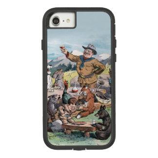 Theodore Roosevelt hebt einen Toast zu den wild Case-Mate Tough Extreme iPhone 7 Hülle 1