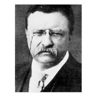 Theodore Roosevelt Postkarte