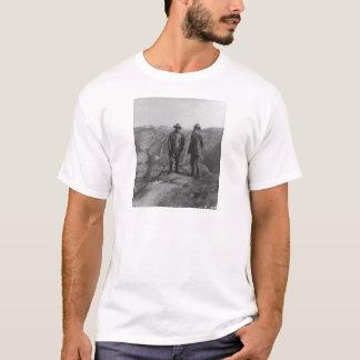 Theodore Roosevelt und John Muir im T-Shirt
