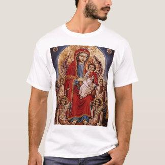 Theotokos mit Christus-Kind T-Shirt
