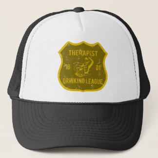 Therapeut-trinkende Liga Truckerkappe