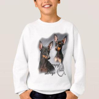 Therapie-Hunde Manchesters Terrier Sweatshirt
