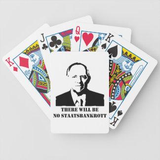 There will be no Staatsbankrott Pokerkarten