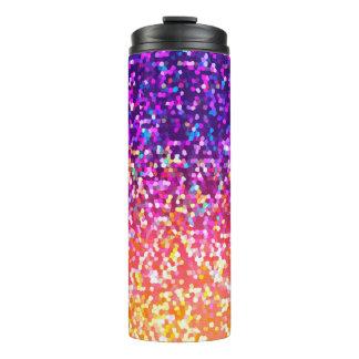 Thermische Trommel-Glitter-Grafik Thermosbecher