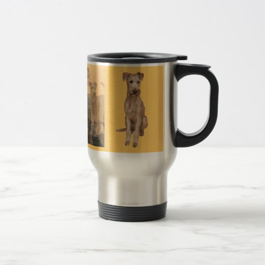 "Thermobecher ""Irish Terrier"" Reisebecher"