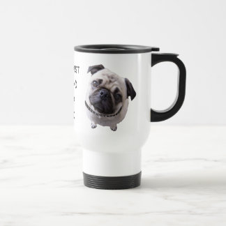 "Thermobecher ""Mops"" Edelstahl Thermotasse"