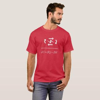 Thermodynamik-erstes Gesetz T-Shirt