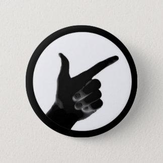 TheseGuys, das Hand zeigt Runder Button 5,7 Cm