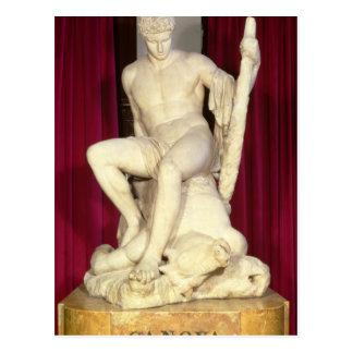 Theseus und der Minotaur, 1782 Postkarte