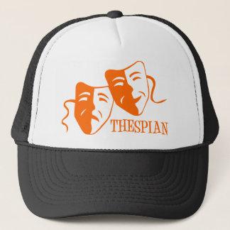 Thespianorange Truckerkappe