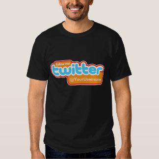 TheTed, @YourUsername Twitter-Blau T Shirt