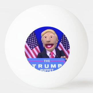 @TheTrumpPuppet weißer Klingeln Pong Ball Ping-Pong Ball