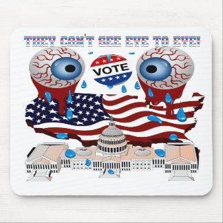 They-Can't-See-Eye-to-Eye-1 Mousepads
