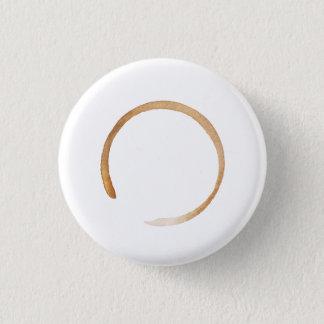 THEYOGADOER Kaffee-Zen-kleiner Knopf Runder Button 2,5 Cm
