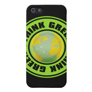 Think_Green iPhone 5 Case