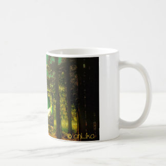 think green mug - tasse