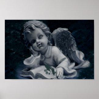 Thinking Angel Poster