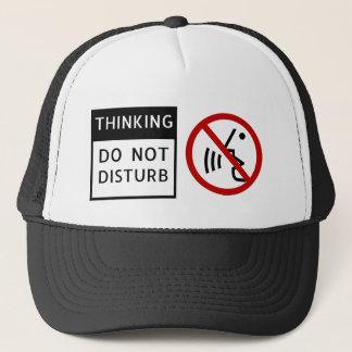 THINKING/DO NICHT STÖREN TRUCKERKAPPE