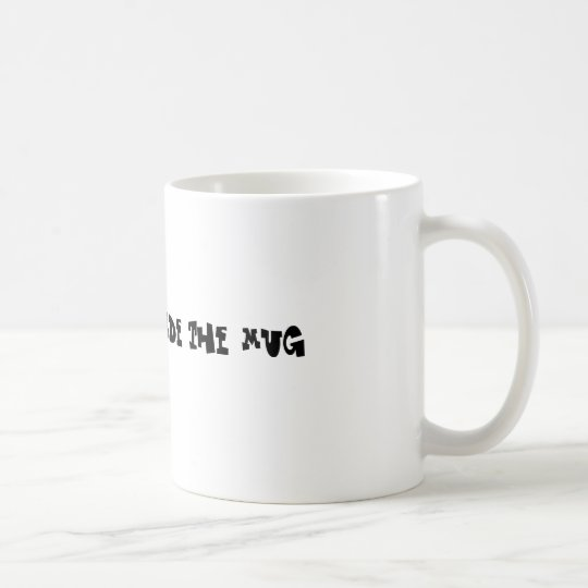 Thinking outside the mug kaffeetasse