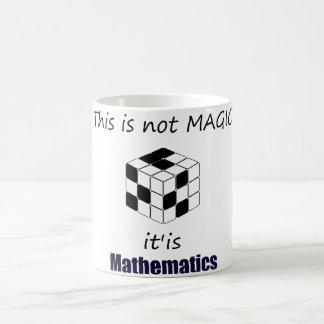 this is not magic is mathematics Becher Kaffeetasse