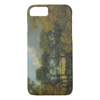 Thomas Gainsborough - bewaldete Landschaft iPhone 8/7 Hülle