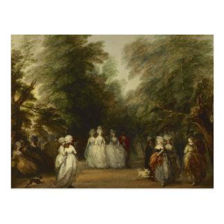 Thomas Gainsborough - das Mall in St James Park Postkarte