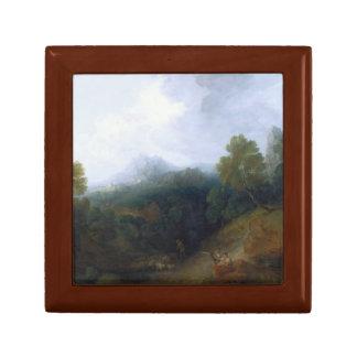 Thomas Gainsborough - Landschaft mit einer Menge Erinnerungskiste