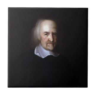 Thomas Hobbes durch John Michael Wright Keramikkacheln