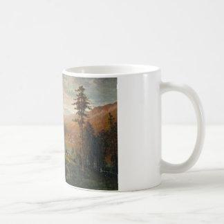 Thomas-Hügel - Inder durch einen See in einem Kaffeetasse