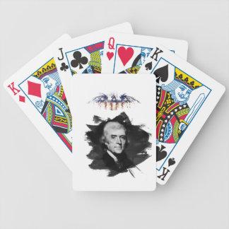 Thomas Jefferson Bicycle Spielkarten