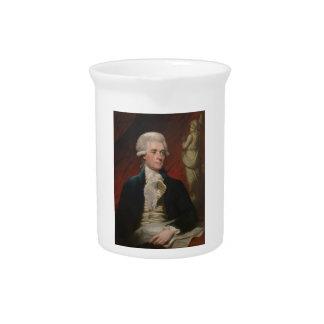 Thomas Jefferson durch Mather Brown (1786) Getränke Pitcher