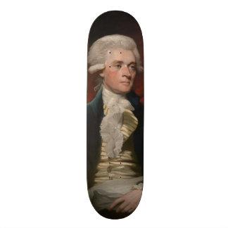 Thomas Jefferson durch Mather Brown (1786) Personalisierte Skateboards
